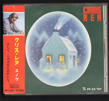 CHRIS REA-SNOW Japanese pressing CD album LOOK OUT FOR ME/IF ANYBODY ASKS YOU