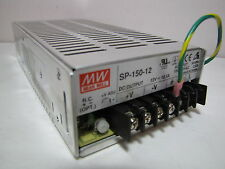 Ac to Dc Power Supply Single Output 12 Volt 12.5 Amp 150 Watt (used)