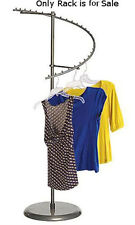 Boutique Raw Steel Spiral Clothing Rack 29-Ball