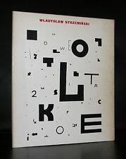Kunsthalle Dusseldorf, Typography and art # WLADYSLAW STRZEMINSKI # 1980, nm-