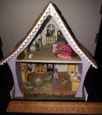 Handcrafted Antique Dollhouse Miniatures Complete Home 1:48 Quarter Scale