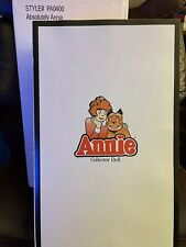 Tonner/ Effanbee Absolutely Annie Collector Doll New With Shipper