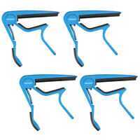 Neewer Single-handed Guitar Capo Quick Change Blue(4pcs)