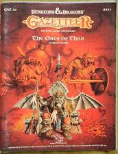 TSR D&D Gazetteer GAZ10 The Orcs of Thar