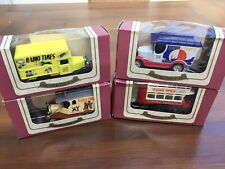 More details for oxford 4 x radio times diecast model vans & bus limited edition + certificate