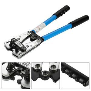 6mm² - 50mm² Plug Crimp Crimping Tool Battery Cable Lug Hex Terminal Crimper UK