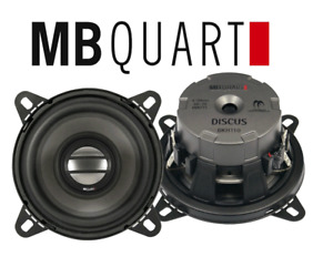 MB Quart  2-Wege 10cm Lautsprecher Koax KFZ PKW Auto Speaker