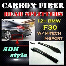 CARKING F30 POST // CARBON FIBER 12+ BMW F30 M-TECH M-SPORT ADH REAR SPLITTERS