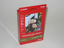 Genuine Canon 4x6 100 glossy photo paper PP201 MX320 MP480 MP240 MP495 wireless