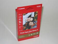Genuine Canon 4x6 100 glossy photo paper PP201 MX300 MX310 MP190 iP1800 iP2600