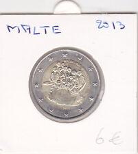 Pièces 2 euro -2013  Malte