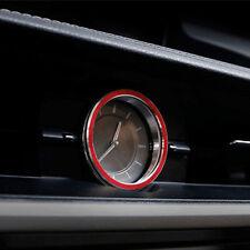 Interior Middle Centre Console Quartz Watch Ring Cover For Lexus ES250 300H 350
