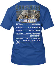 Trendy Awesome Carpenter - Hourly Rate Minimum If You Watch Premium Tee T-Shirt