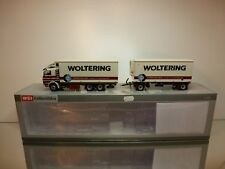 WSI SCANIA 3+REFRIGERATED TRUCK COMBI WOLTERING - WHITE 1:50 - EXCELLENT IN BOX