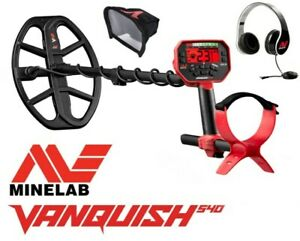Minelab VANQUISH 540 inkl. Dustcover + Kopfhörer. Metalldetektor Metallsonde