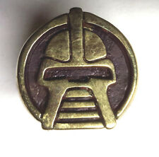 Battlestar Galactica Cylon Centurion Helmet Brass Ring- Size 12 - FREE S&H