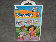 Vtech V.Reader Dora The Explorer And The Three Little Pigs VT2402 NEW Sealed
