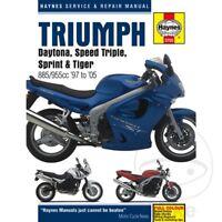 Triumph Daytona 955 i 2000-2001 Haynes Service Repair Manual 3755