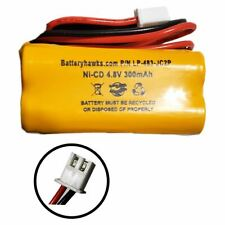 4.8V AAA 300MAH Battery Pack Replacement for Exit Sign Emergency Light