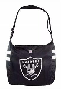 Oakland Raiders NFL Jersey Tote Bag Shoulder Bag