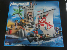 Playmobil 5919 boat/the boat pirates and the watchtower new rare