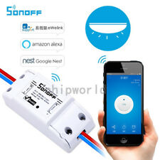 Wireless WIFI Switch Relay Module Phone APP Remote Control 220V Smart Home UK