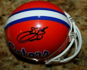 EMMITT SMITH #22 FLORIDA GATORS SIGNED AUTHENTICATED AUTOGRAPHED MINI HELMET COA