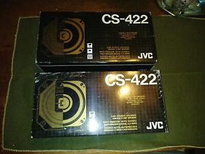 1 Pair 1970's JVC Coaxial 2 Way Car Stereo Speaker CS-422  NOS