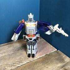 Vintage 1986 HASBRO Transformers G1 Decepticon ciudad comandante Galvatron utilizado!