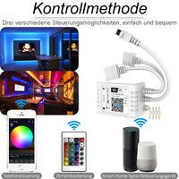Mini Magic Home WiFi RGB Led Streifen Controller + 24key Remote for iOS Android