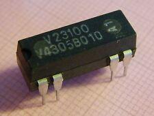 V23100-V4305-B010 Reed relè 5V Bobina mit Diodo, 2xNO 100V/0,2A