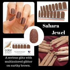Color Street - Sahara Jewel - 100% Nail Strips