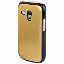 Hardcase Black Border für Samsung i8190 Galaxy S3 Mini gelb Case Schutzhülle