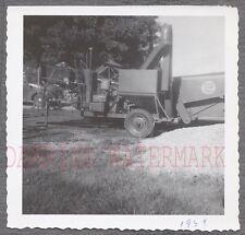 Vintage Photo Massey Harris Clipper Combine Farming Equipment 694990