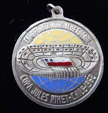 1962 WORLD CUP FUTBOL COPA JULES RIMET RECUERDO DE CHILE COLOR MEDAL VERY RARE