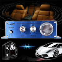 Mini 180W + 180W 2CH 12V Small Stereo Audio High Power Car Amplifier for CD MP3