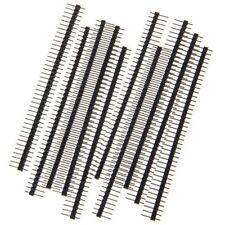 20PCS 40Pin 2.54mm Single Row Straight Male Pin Header Strip 1*40P for Ardunio