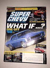 Super Chevy Magazine '69 Camaro Bow Tie Tech October 2014 030717NONRH