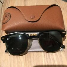 Ray Ban Rb3016 Clubmaster W0365 Sunglasses Black Frame 51mm