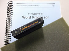 ti994a TI Writer Word Processor COMPLETE