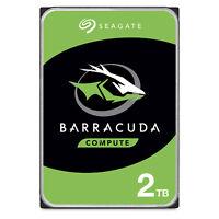 Seagate BarraCuda 2TB Internal HDD 3.5in SATA 7200 RPM 256MB Cache (ST2000DM0...