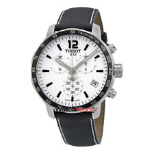 Tissot Quickster Soccer World Cup Black Leather Mens Watch T0954171603700