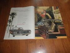 PONTIAC BONNEVILLE AD-1960-Near Mint AD