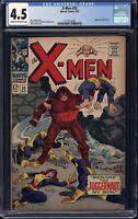 Marvel Comics X-Men #32 CGC 4.5 Juggernaut Appearance Roy Thomas Tartaglion 1967