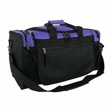 e59bf10f39d Duffle Duffel Bag Sport Travel Carry-On Workout Gym Red Black Blue Gold Gray  17