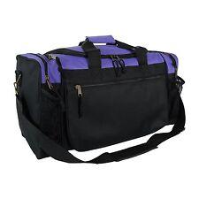 Duffle Duffel Bag Sport Travel Carry-On Workout Gym Red Black Blue Gold  Gray 17 e84de39ed3d9f