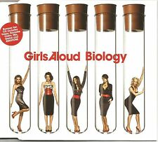 GIRLS ALOUD Biology 6TRX w/ REMIX & UNRELASE & VIDEO CD Single SEALED USA Seller