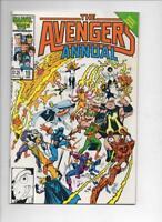 AVENGERS #15 Annual, VF/NM, Iron Man, Tigra, Wasp, Captain America, 1986, Marvel