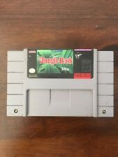 Disney's The Jungle Book for Super Nintendo Snes Cleaned Contacts Tested Working