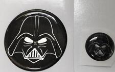 Dodge Challenger 2008-2017 Darth Vader Fuel Door & Start Button Domed Emblem
